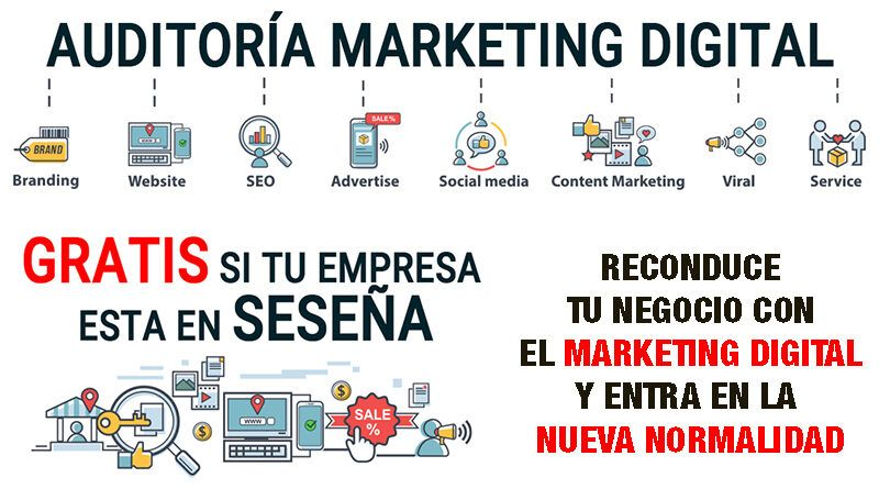 Digitaliza tu empresa, programa de marketing digital